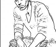 Coloriage Célébrités Enrique Iglesias