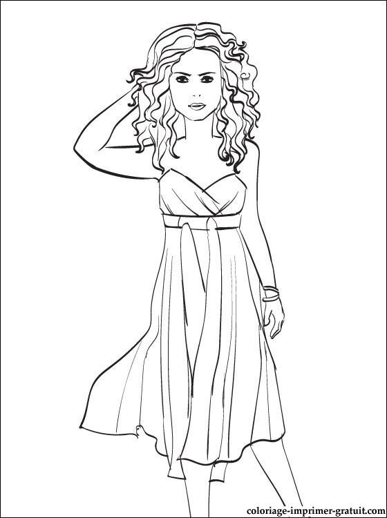 Coloriage et dessins gratuits Célébrités facile à imprimer