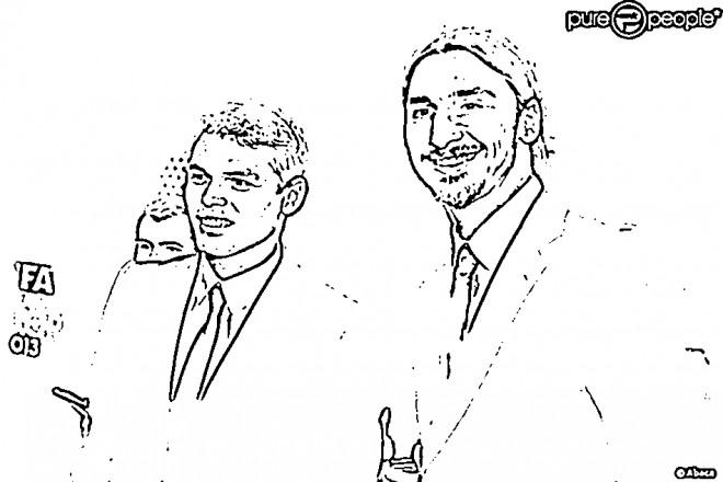 Coloriage et dessins gratuits Célébrités Ibrahimovic à imprimer