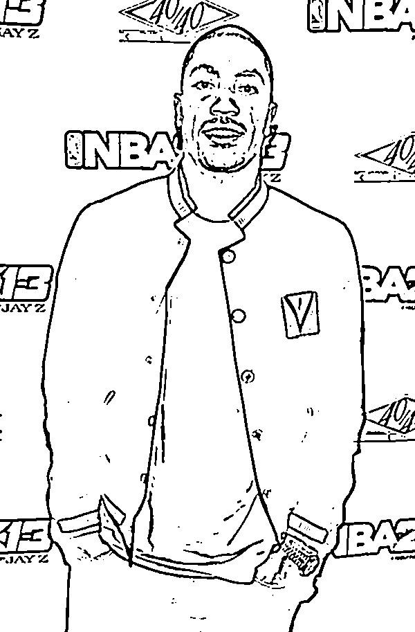 Coloriage et dessins gratuits Célébrités Rappeur Américain à imprimer