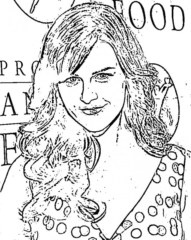 Coloriage et dessins gratuits Célébrités Star Populaire à imprimer