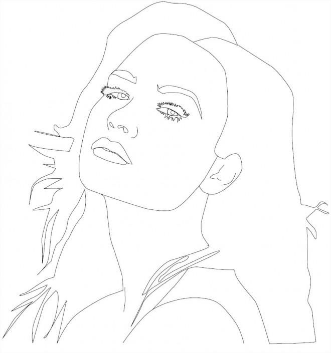 Coloriage et dessins gratuits Camp Rock Caitlyn Geller à imprimer