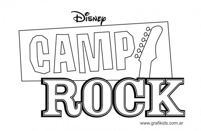 Coloriage et dessins gratuits Camp Rock Disney à imprimer