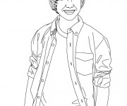 Coloriage Camp Rock Personnage
