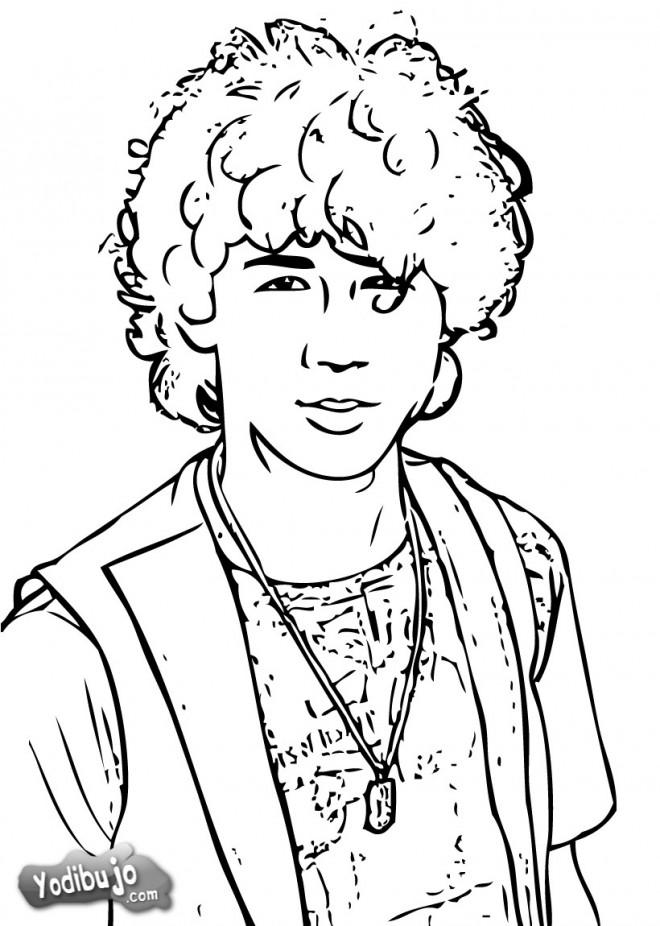 Coloriage et dessins gratuits Camp Rock pour Les Jeunes à imprimer