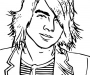 Coloriage Camp Rock Shane Gray