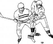 Coloriage dessin  Hockey 61