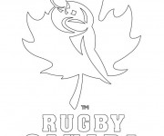 Coloriage Rugby Canada