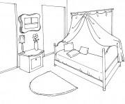 Coloriage dessin  Chambre 11