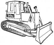 Coloriage Bulldozer 5
