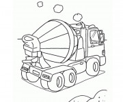 Coloriage Camion 57