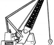 Coloriage Pelle mécanique
