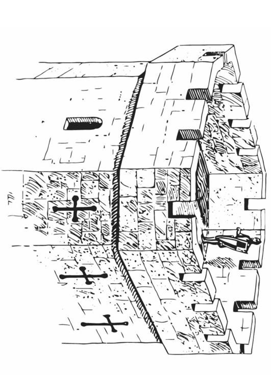 Coloriage et dessins gratuits Tour du château à imprimer