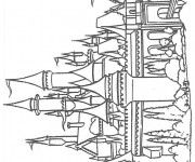 Coloriage et dessins gratuit Un Palais Royale à imprimer