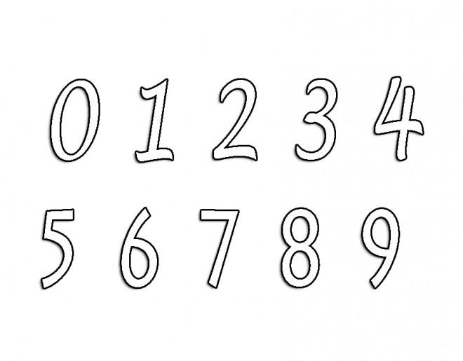 Coloriage chiffres 2 dessin gratuit imprimer - Dessin de chiffre ...
