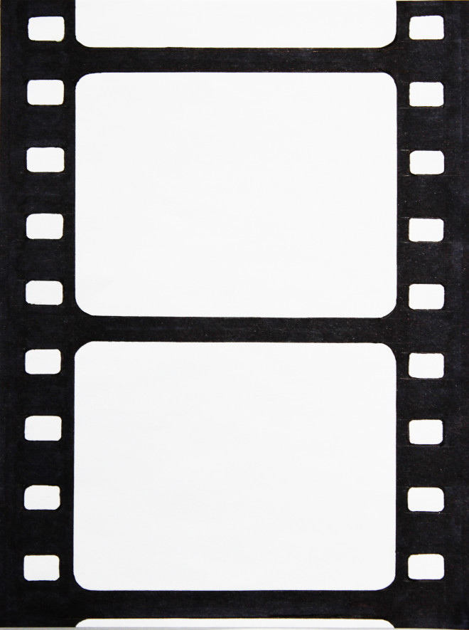 Coloriage et dessins gratuits Bande de Film vide à imprimer