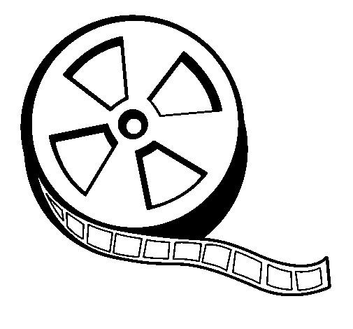 Coloriage et dessins gratuits Bobine de film à imprimer