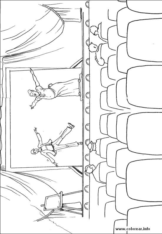 Coloriage et dessins gratuits Salle de Cinéma vide à imprimer