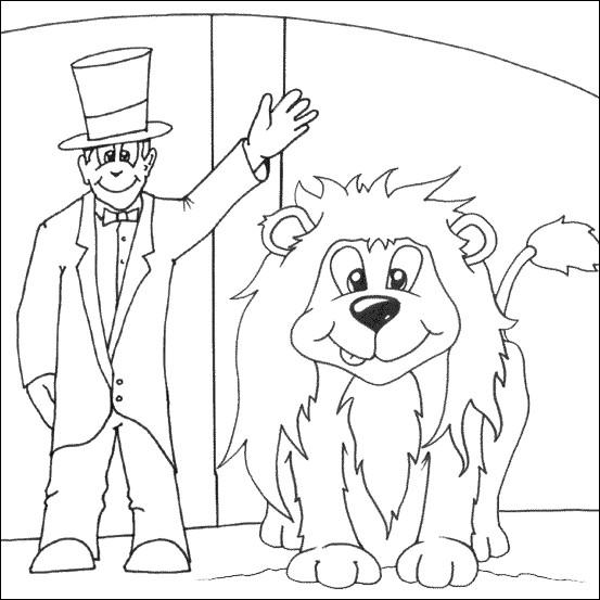 Coloriage De Cirque En Ligne.Coloriage Cirque En Ligne Dessin Gratuit A Imprimer