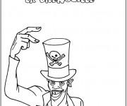 Coloriage et dessins gratuit Cirque Magicien Disney à imprimer
