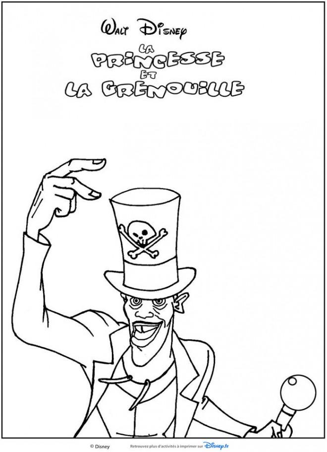 Coloriage et dessins gratuits Cirque Magicien Disney à imprimer