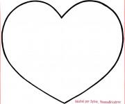Coloriage dessin  Coeur 6