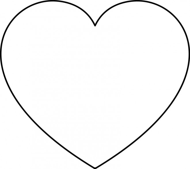 Coloriage Coeur A Colorier Dessin Gratuit A Imprimer