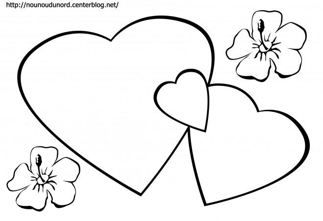 Coloriage Coeur Amour Gratuit.Coloriage Coeur Amour Dessin Gratuit A Imprimer