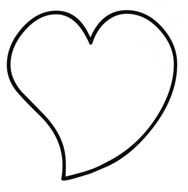 Coloriage Coeur D Amitie Dessin Gratuit A Imprimer