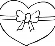 Coloriage Coeur d'amour magique