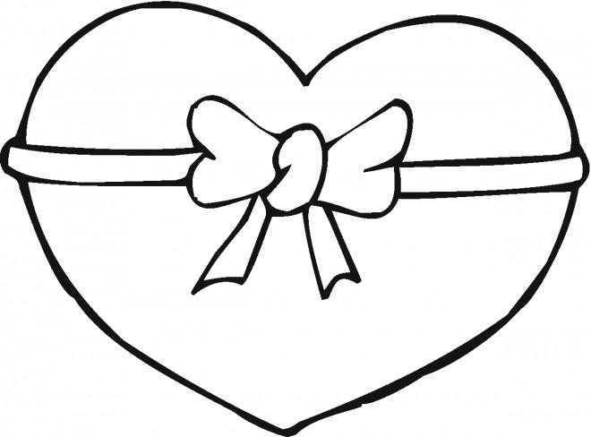 Coloriage Magique Coeur A Imprimer.Coloriage Coeur D Amour Magique Dessin Gratuit A Imprimer