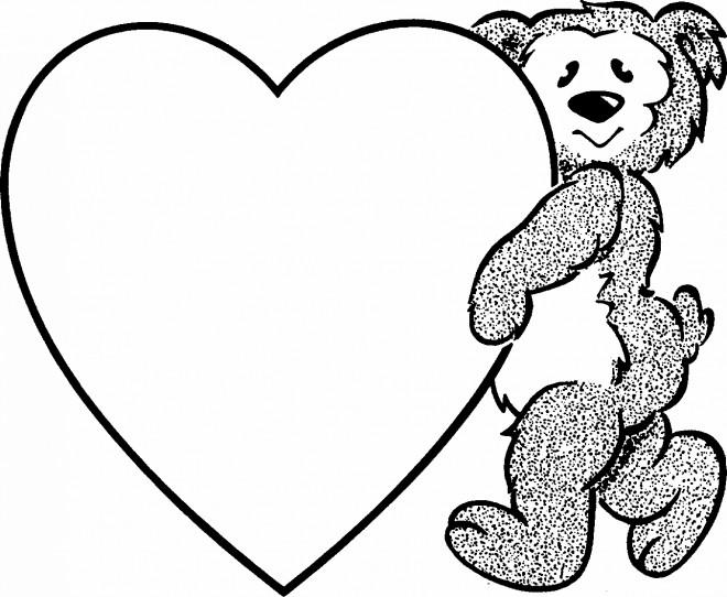 Coloriage Coeur gratuit à imprimer liste 60 à 80