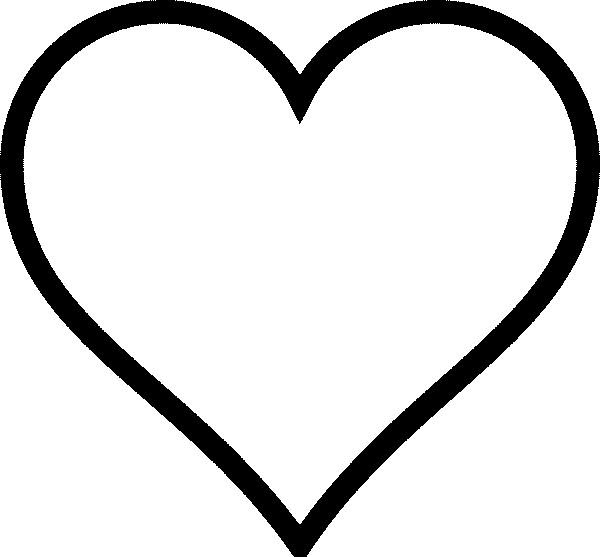 Coloriage Coeur Symbole D Amour Dessin Gratuit A Imprimer