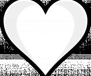 Coloriage Coeur vectoriel
