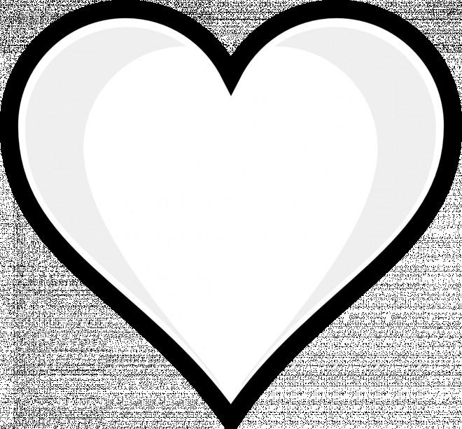 Coloriage et dessins gratuits Coeur vectoriel à imprimer