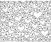 Coloriage Des Coeurs Partout
