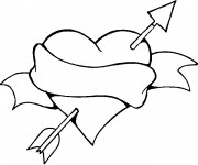 Coloriage dessin  St-Valentin 49