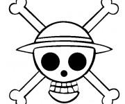 Coloriage et dessins gratuit Crâne de militaire à imprimer