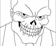 Coloriage et dessins gratuit Crâne Film à imprimer