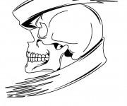 Coloriage Crâne magique