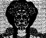 Coloriage et dessins gratuit Tête de mort mexicaine à imprimer