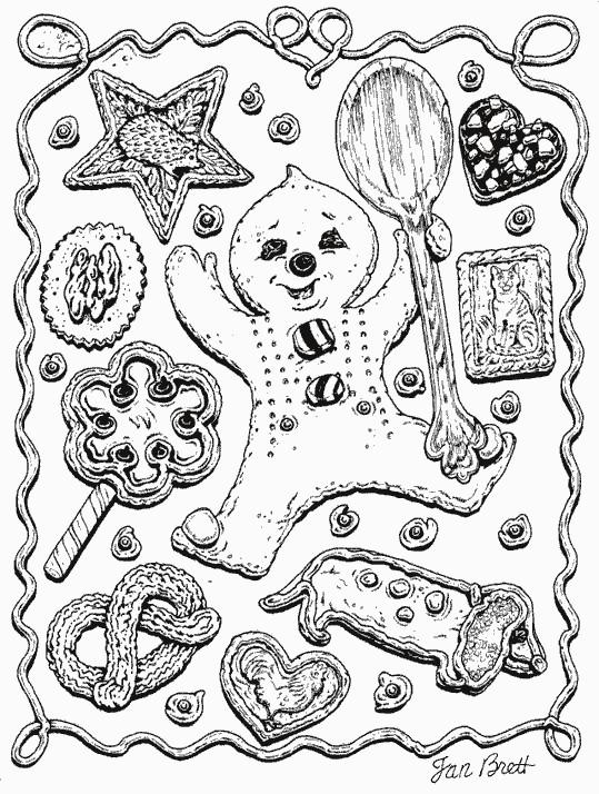Coloriage et dessins gratuits Cuisine Magique à imprimer