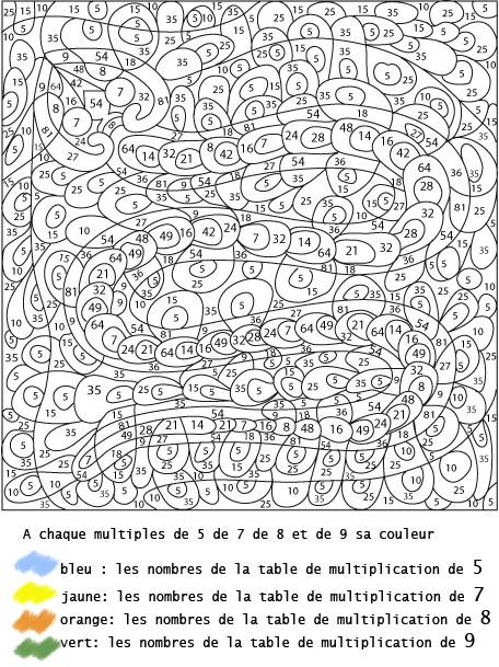 Coloriage Dessin à Numéro en ligne dessin gratuit à imprimer