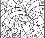 Coloriage et dessins gratuit Dessin à Numéro pour enfant à imprimer