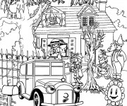 Coloriage Adulte Halloween Difficile