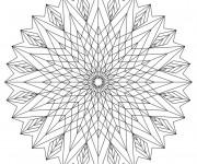 Coloriage et dessins gratuit Adulte Optique Difficile à imprimer