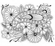 Coloriage Art Thérapie Difficile