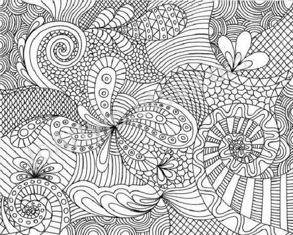 Coloriage et dessins gratuits Difficile mandala magnifique à imprimer