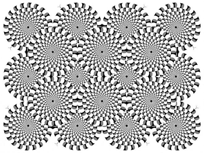 Coloriage et dessins gratuits Illusion d'optique Adulte à imprimer