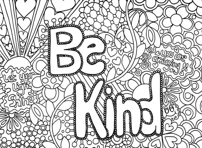 Coloriage et dessins gratuits Illustration Amour Difficile à imprimer